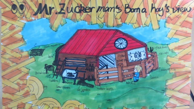 叔叔的农场长什么样? Mr. Zuckerman's Barn Zuckerman